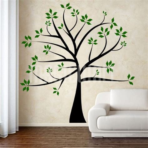 branches wall stickers wall decals tree with outstretched branches wall stickers