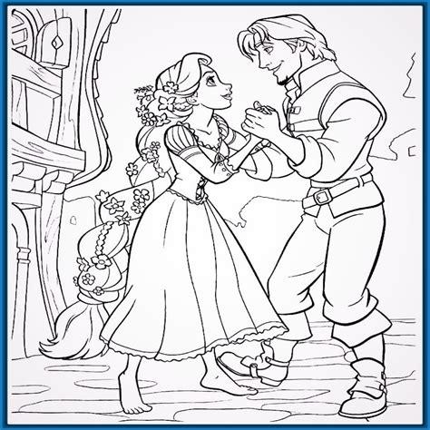 dibujos para colorear gratis de princesas imagenes de princesas para colorear de rapunzel imagenes