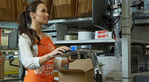 supply chain home depot careers