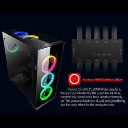 best rgb computer fans aigo c3 5 computer case cooler rgb 120mm silent light