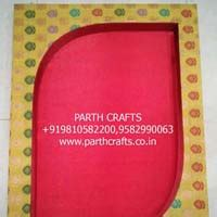 Handmade Saree Packing Trays - designer baby shower return gifts manufacturer by parth