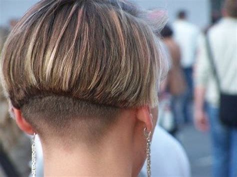 layered buzzed bob hair hairxstatic short back bobbed gallery 3 of 6