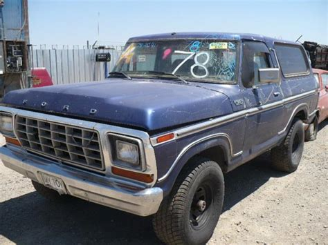 1978 ford bronco 78fo2041d desert valley auto parts
