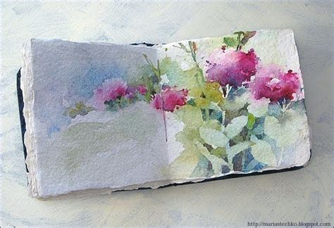 sketchbook watercolor watercolor sketchbook water color