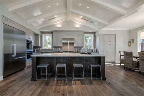 oversized kitchen island large transitional with 25 beautiful transitional kitchen designs pictures