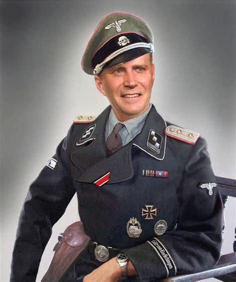 German Officer by World War Ii German Italian American
