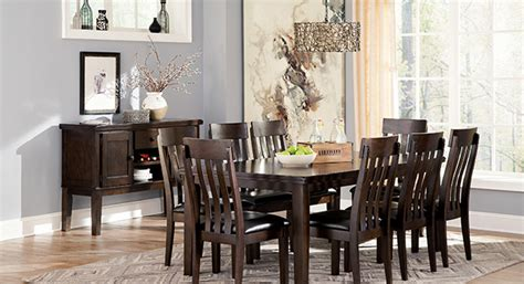 dining room furniture michigan zilmar medium brown rectangular dining room tablesignature