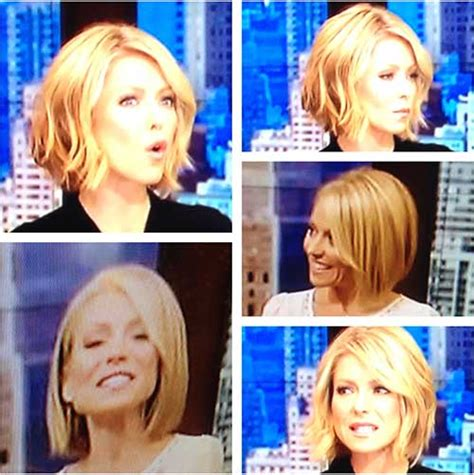 kelly ripa bob wave hair pinterest kelly ripa bobs new cute hairstyles for short wavy hair short hairstyles