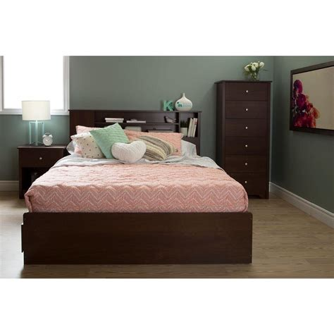 cherry headboard queen south shore vito sumptuous cherry full queen headboard