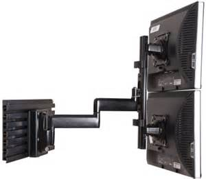 Dual Lcd Monitor Wall Mount How Doyou Mount Monitors One Above The Other Displays