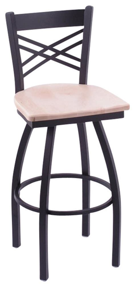 36 Inch Spectator Stool by 36 High Wooden Seat Cross Back Swivel Spectator Stool Bar Stools And