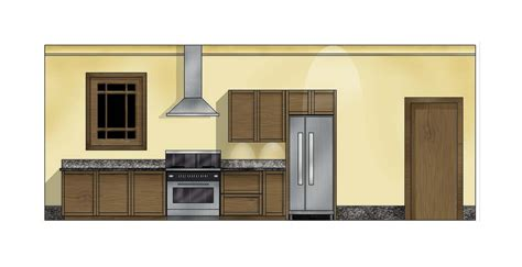 Floorplan Free kitchen elevation digital imaging practice january 28