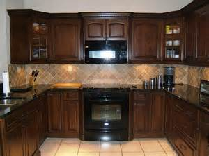Dark Kitchen Cabinets With Black Appliances espresso kitchen cabinets with black appliances