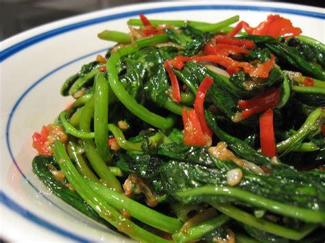 Resep Masak Oatmeal Vegetarian Prawn Vegetarian Udang Goreng delicious foods kangkung belacan