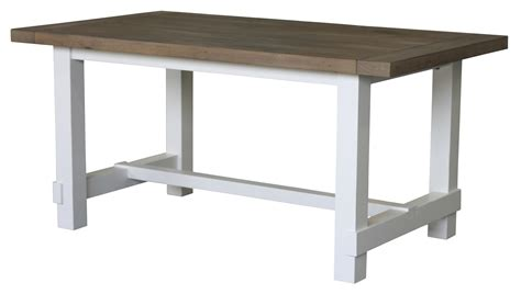 White Country Dining Table Cdi Furniture Country Dining Table Regular White And Grey Cdi Td1236mwg Modern Furniture