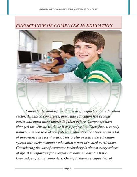 Computers In Education Essays by Computerized Education Essay Writefiction581 Web Fc2