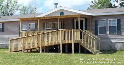 porch designs for mobile homes mobile home porch mobile