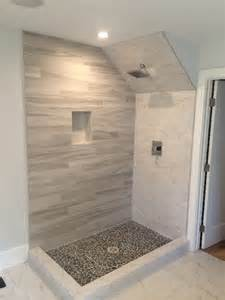 Small Baths With Showers glass enclosure with angled ceiling patriot glass and
