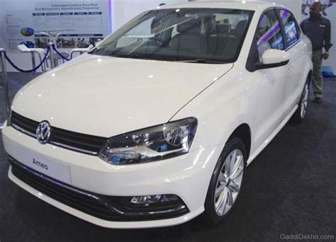 volkswagen ameo white volkswagen ameo car pictures images gaddidekho com