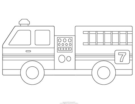 Fire Engine Template Fire Free Engine Image For User Engine Templates