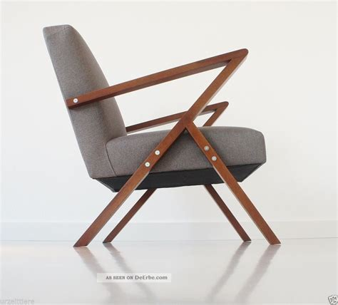 stuhl 60er retro chair design lounge relax tv sessel mid