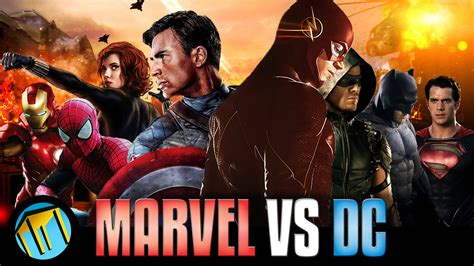 marvel versus film marvel vs dc ultimate trailer youtube