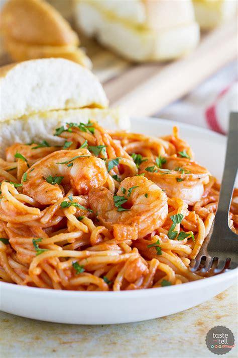 creamy cheesy shrimp and pasta recipes creamy tomato pasta with shrimp taste and tell