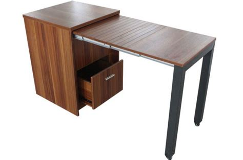 Commode Transformable En Bureau Ch 234 Ne Clair Bureau Bureau Coulissant
