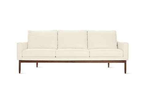 raleigh sofa raleigh sofa in leather design within reach