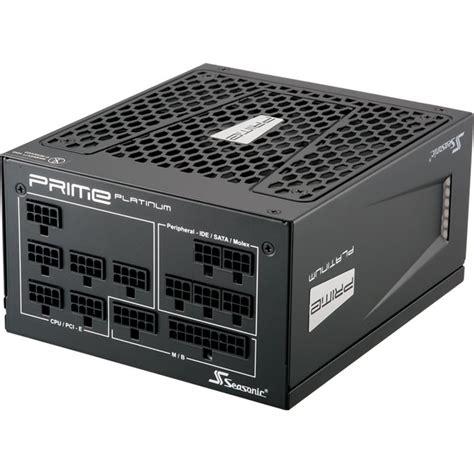 Seasonic Prime Ultra Platinum 1000pd 1000w Modular 80 Platinum 1000 watt seasonic prime ultra modular 80 platinum