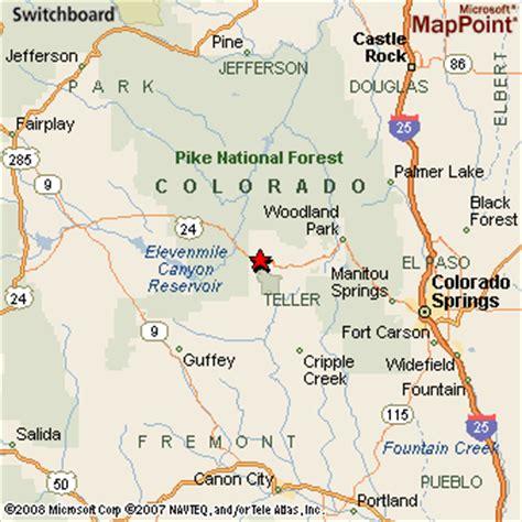 florissant colorado map 28 images florissant colorado