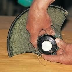 remplacer le fil d un coupe bordure