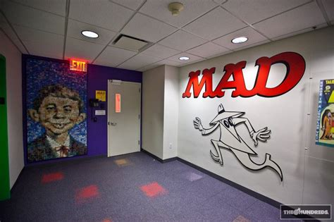 Office Magazine by The Mad Magazine Office Visit