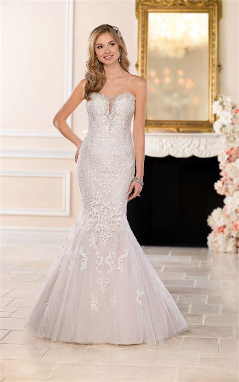 size vintage lace wedding dress stella york