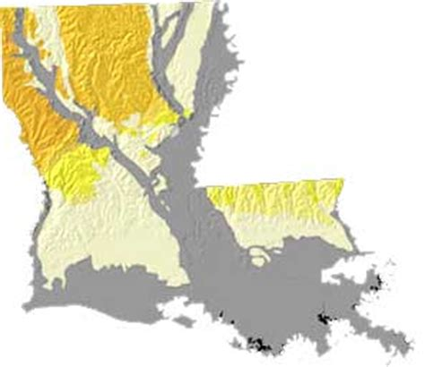 louisiana geologic map union justice and confidence state symbols usa