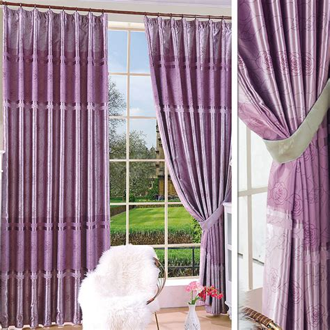 vintage rose curtains purple vintage rose curtains of cotton and polyester fabrics