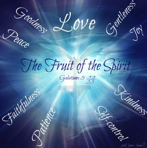 7 fruit of the spirit can a saved fall from grace lord jesus saves