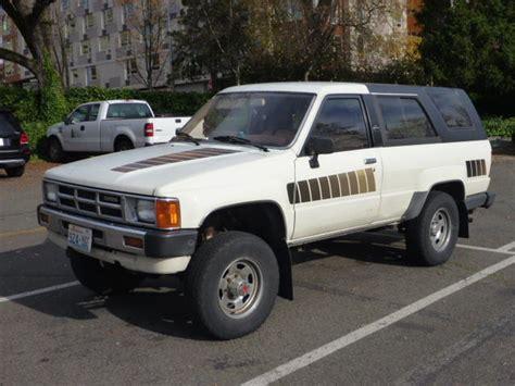 Toyota 4runner Sr5 For Sale For Sale 1985 4runner Sr5 Seattle 3 000 Toyota