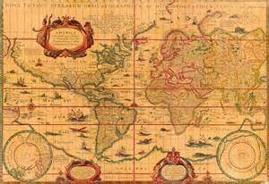 Map Of Ancient World ancient world maps world map 17th century