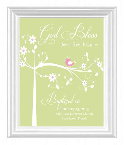 personalized baptism gifts baptism gift christening gift personalized by kreationsbymarilyn