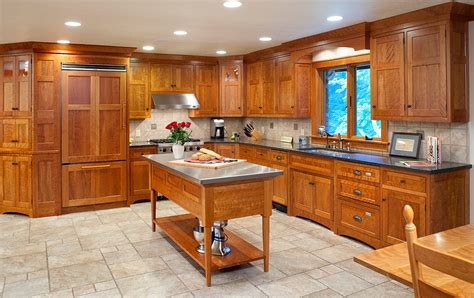 arts and crafts kitchen design arts and crafts kitchen island plans