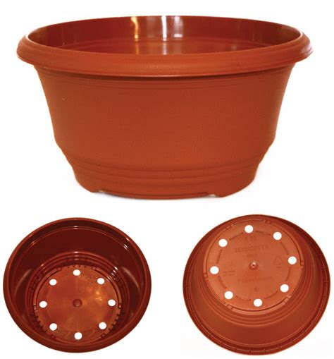 20 Inch Plastic Planters 20cm 8 Inch Plastic Teku T20 Bulb Bowls Plant Pots For