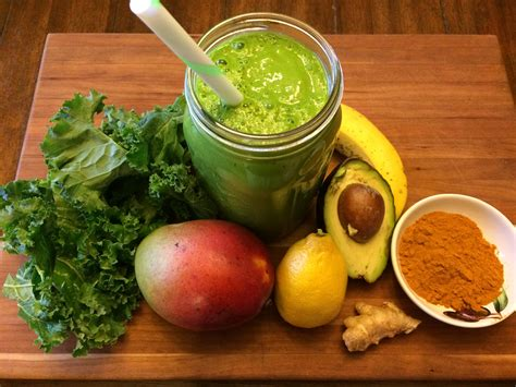 Kale Turmeric And Asparagus Detox by Conscious Cleanse Totally Turmeric Green Smoothie