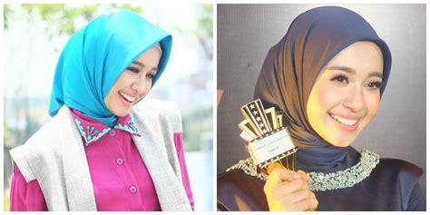 tutorial jilbab untuk wajah bulat dan tembem model jilbab untuk wajah bulat dan pipi tembem 6 trik