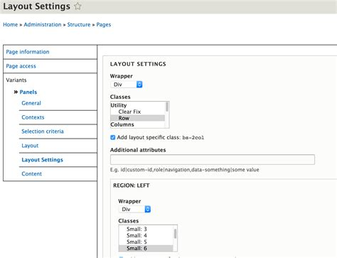 Bootstrap Layout Settings | how to implement layouts using bootstrap layouts in drupal