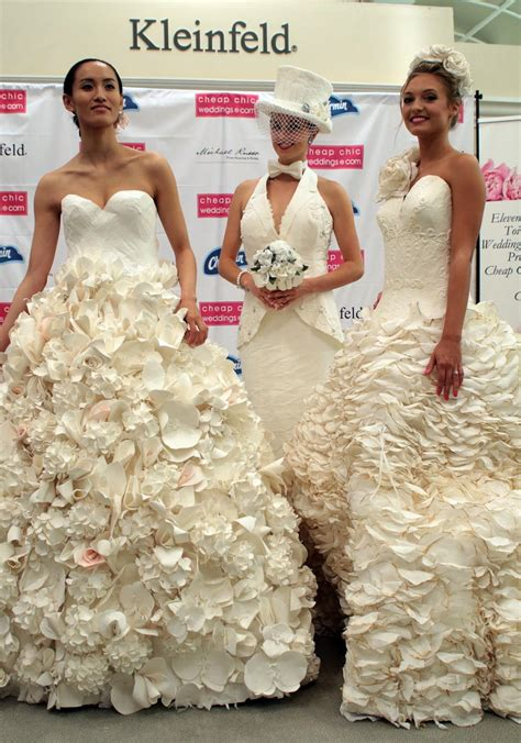 Wedding Dress Sweepstakes - 11th annual cheap chic weddings toilet paper wedding dress contest