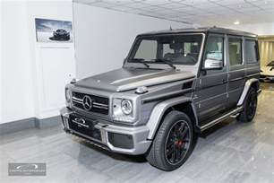 2016 mercedes amg g63 463 edition coutts automobiles