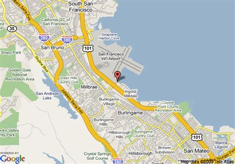 san francisco map with airport westin san francisco airport millbrae deals see hotel
