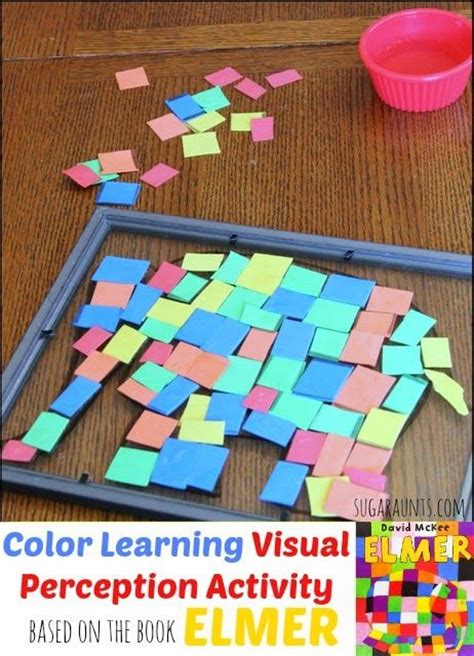 elmer elephant colours buggy 1783444959 elmer the elephant color learning visual perceptual activity aunt activities and colors