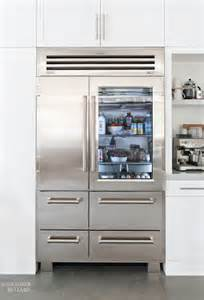 Sub Zero Refrigerator With Glass Door Sub Zero Pro 48 Glass Door Refrigerator Bullard